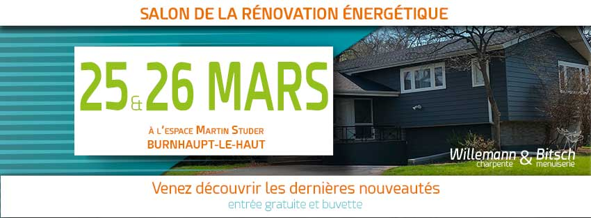 Salon Rénov' Habitat rénovation énergétique mars burnhaupt