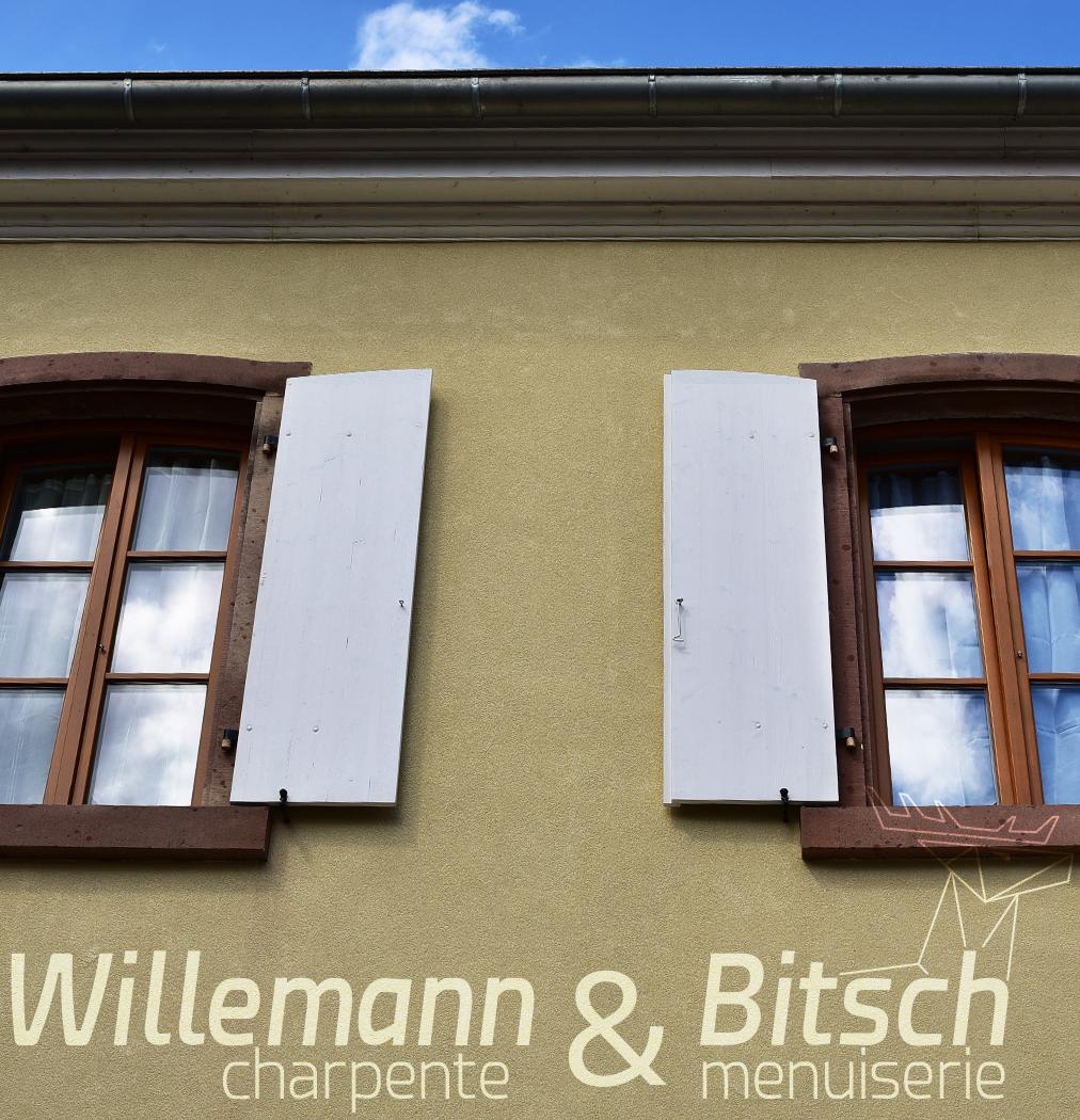 Fen tre bois 80mm willemann bitsch for Parclose fenetre bois