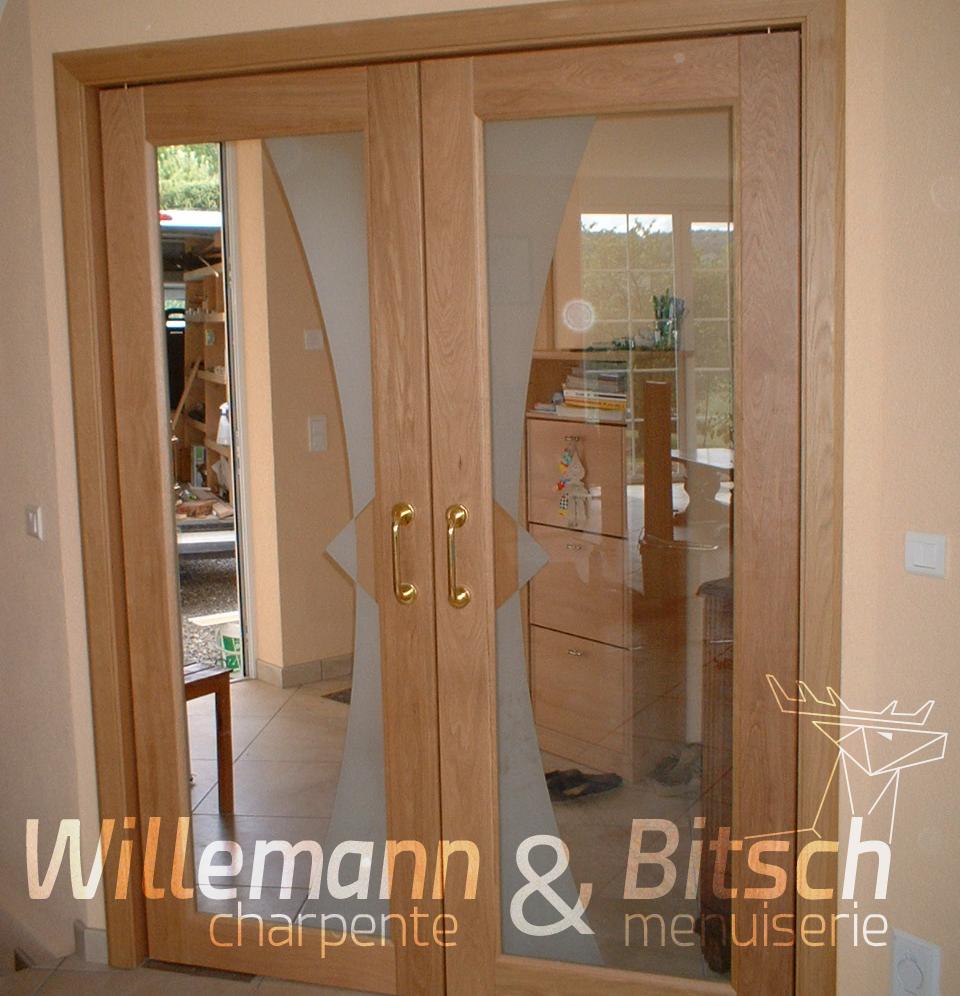 Porte ambiance panneau willemann bitsch - Panneau habillage porte interieur ...