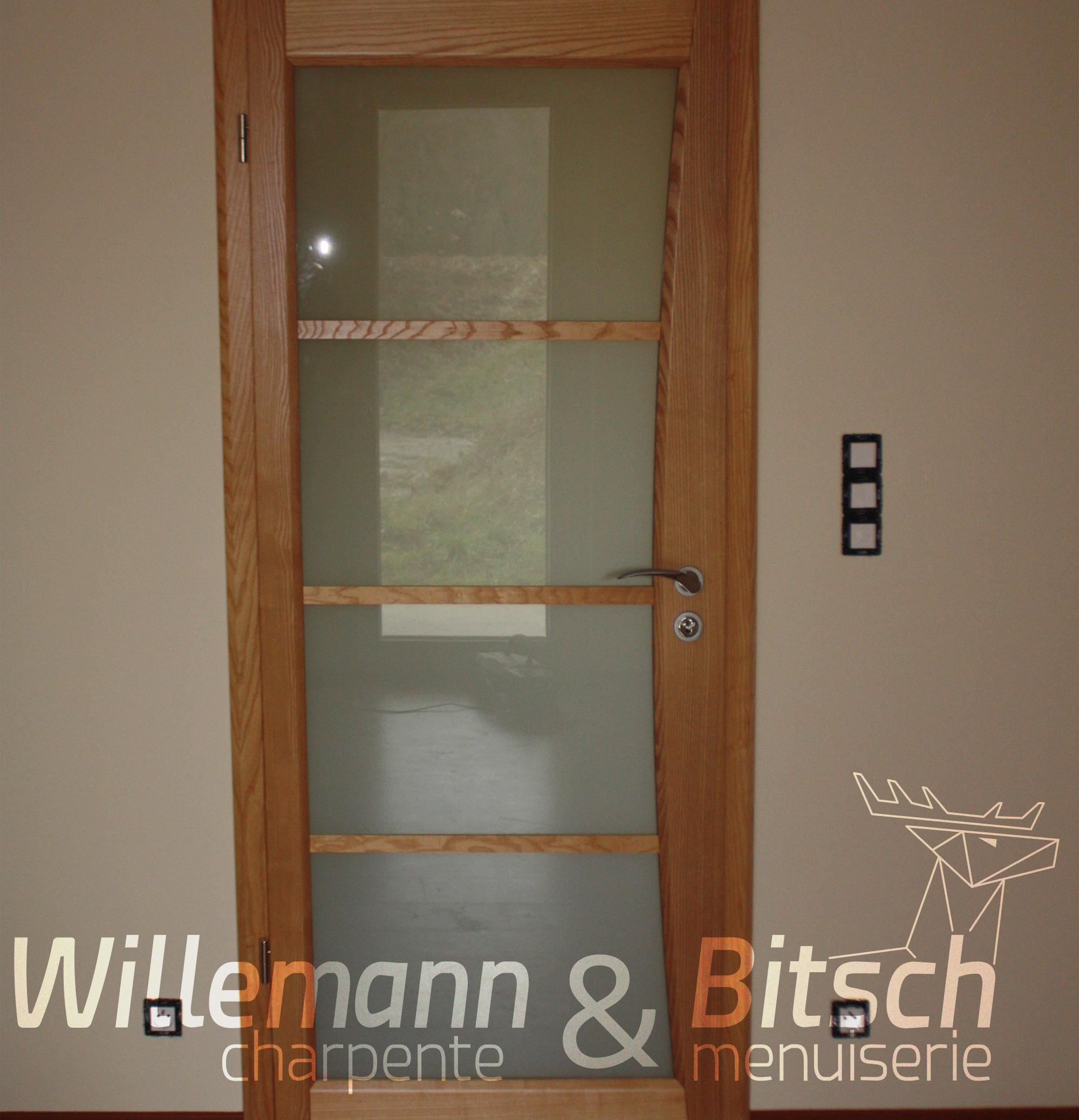 Porte ambiance panneau willemann bitsch for Porte interieur hetre