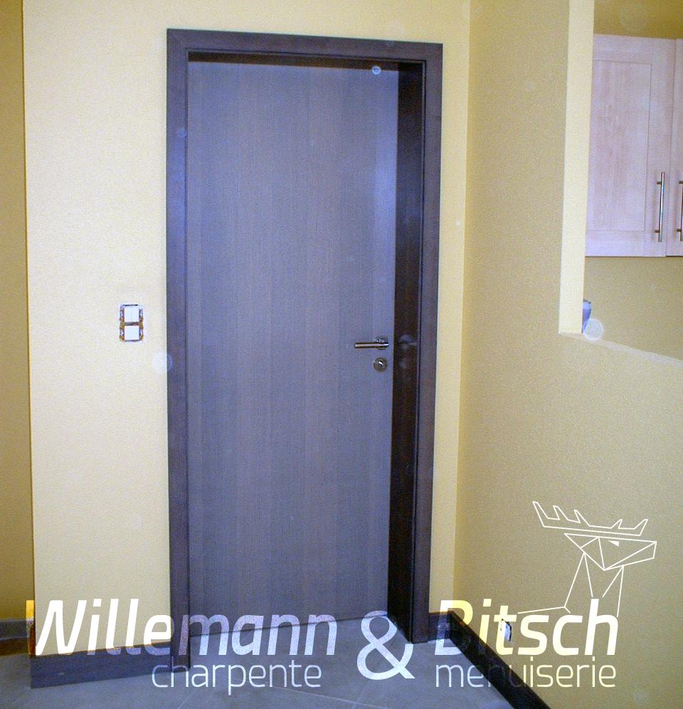 Porte authentique isoplane willemann bitsch for Porte interieur isophonique