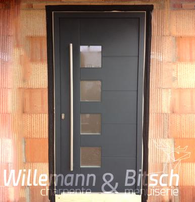 Porte D Entr 233 E Bois Alu Willemann Amp Bitsch