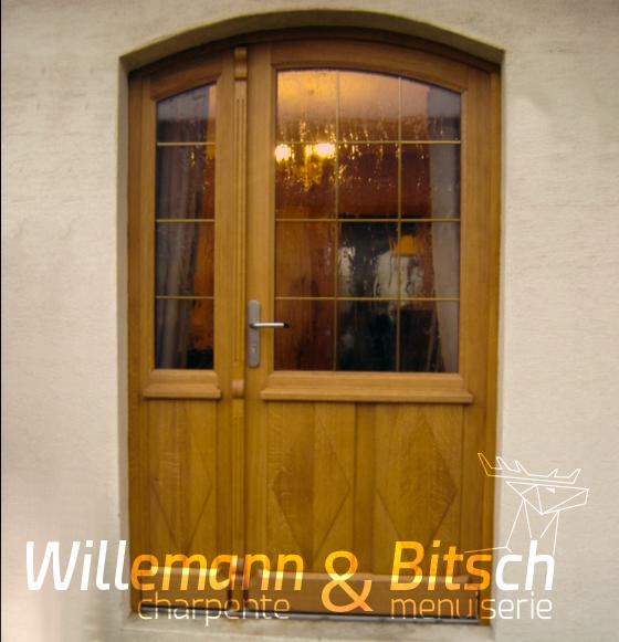 Porte D Entr 233 E Bois Willemann Amp Bitsch