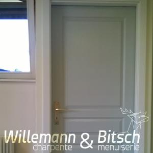 porte pr te peindre panneau ou isoplane willemann bitsch. Black Bedroom Furniture Sets. Home Design Ideas