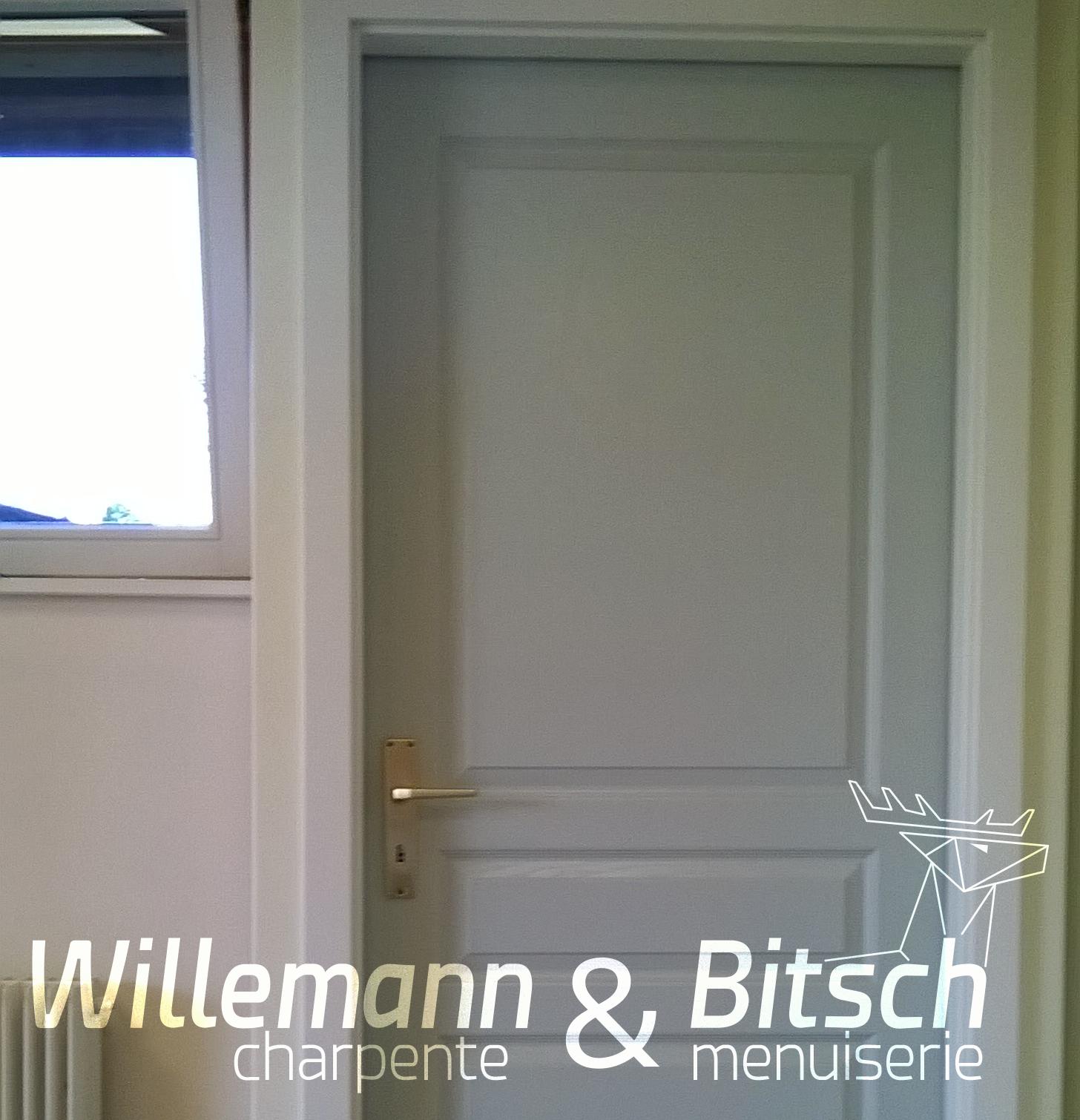 Porte pr te peindre panneau ou isoplane willemann for Porte interieur isophonique