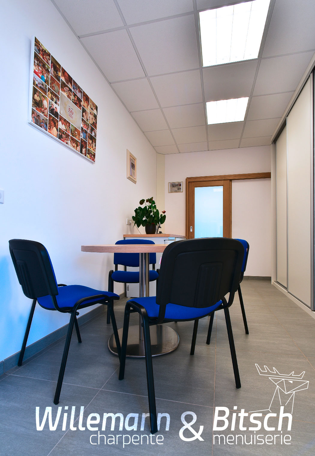 Cernay - agencement espace de repos pour les employés