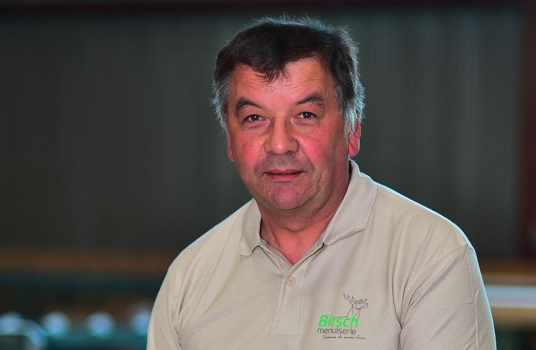 Jean-Paul Willemann - Dirigeant charpente - Maître charpentier