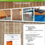 Fiche produit miniature - isolation thermique INTERIEUR