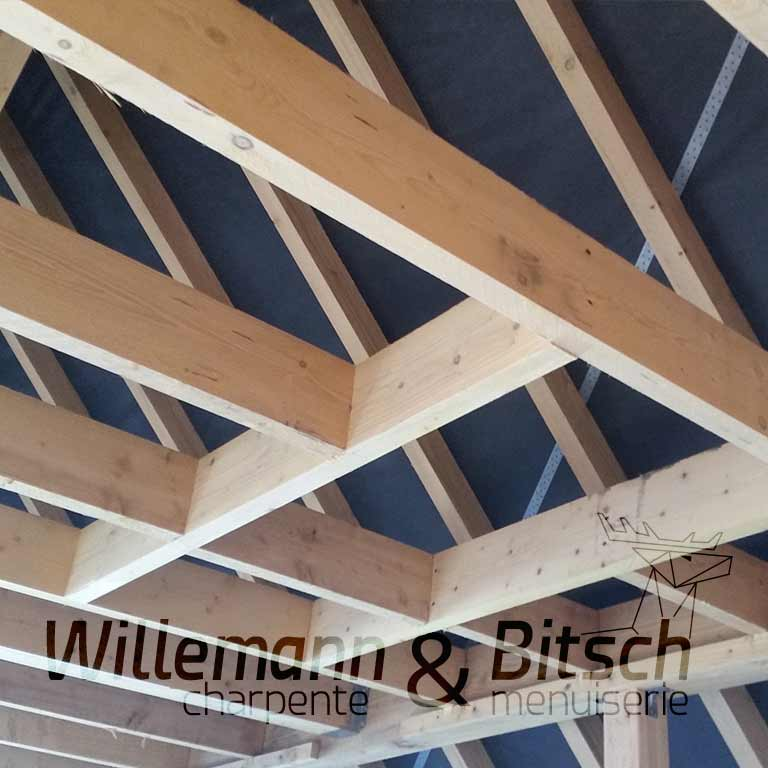 bois massif conception ossature personnalisable solidité durabilité