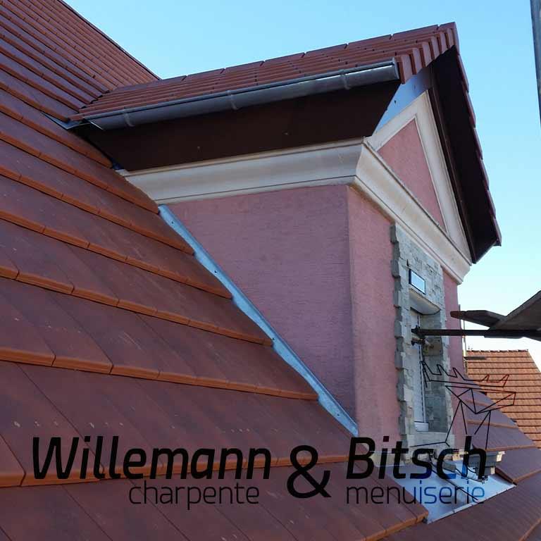 châssis de toit toiture fenêtre rénovation lucarne charpente willemann alsace rhin